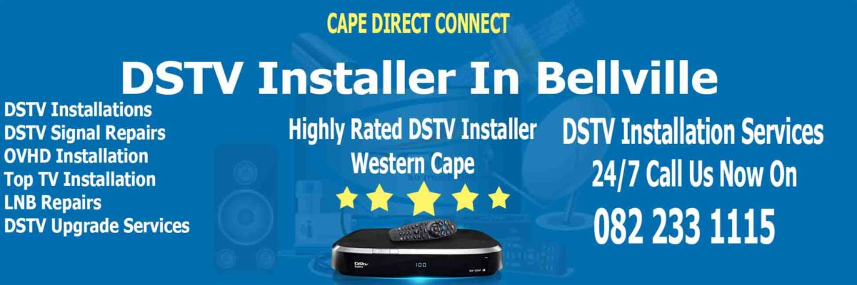 DSTV Installer & Signal Loss Repairs In Bellville Cape Town
