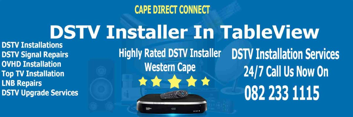 DSTV Installer In Table View Cape Town